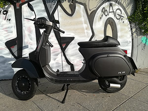 VESPA PKS GREY MATT