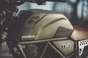 MITT 125 DS SCRAMBLER +SEGURO GRATIS