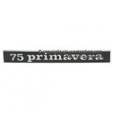 Logo Anagrama trasero 75 PRIMAVERA