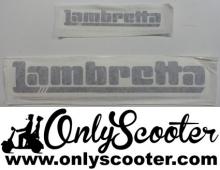 Kit pegatinas Lambretta Lince (consultar colores)