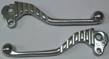 Manetas SPORT Vespa aluminio pulido (todos los modelos a partir 1978) Kit 2 unidades