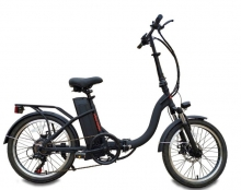 "E-BIKE URBAN MOTION 20"" negra U60111"