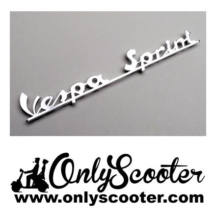 Logo anagrama frontal Vespa Sprint