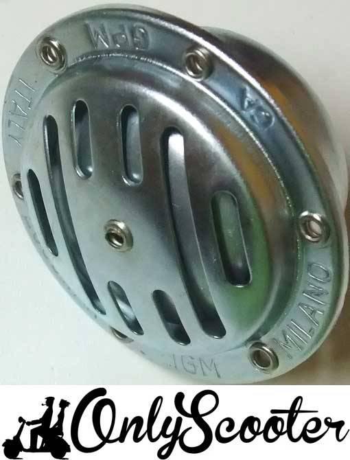 Claxon Vespa 75/125 6V aluminio