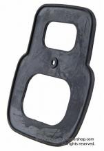 Junta goma negro Piloto trasero Vespa SL Antique BOSATTA (plástico) pequeño