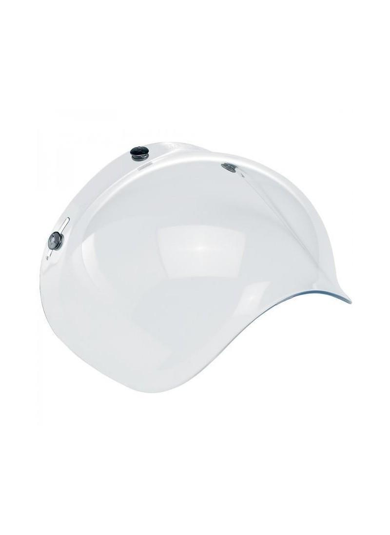Pantalla burbuja para casco de moto jet