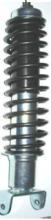 Amortiguador trasero tipo original CARBONE (muelle negro)
