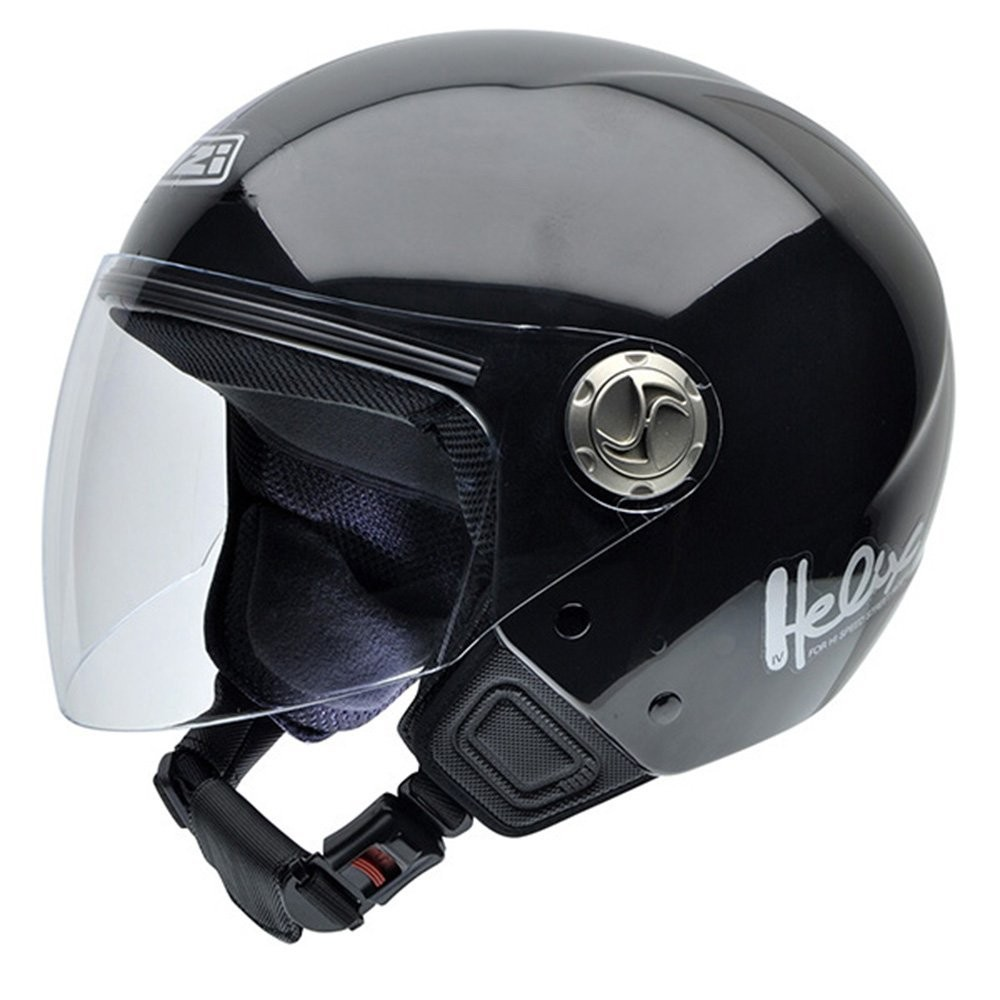 Casco Helix IV Casco de Moto Color Negro