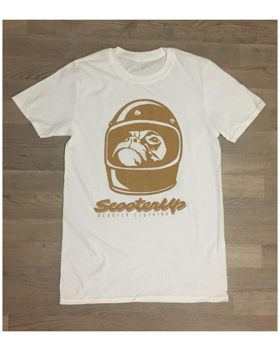 camiseta Scooter Up (Blanca)