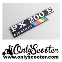 Logo angrama cofano PX200E Elestart