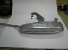 Silencioso de escape Lambretta S-2-3 ANCILLOTTI (no incluye codo)