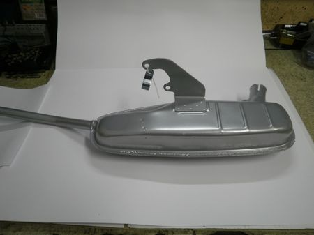 Silencioso de escape Lambretta S-2-3 ANCILLOTTI (no incluye codo)