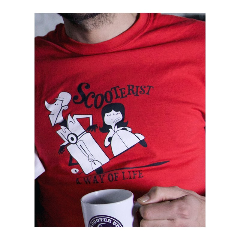 Camiseta Scooterist..a way of life