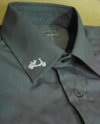 Camisa Scooter Gris