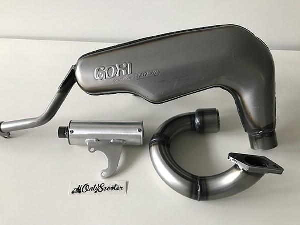 Escape Gori sport Lambretta S2/3 (44 mm diametro)