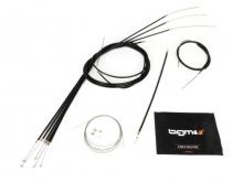 Kit transmisiones completo Lambretta S2-3 Teflon NEGRO BGM