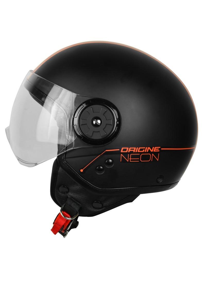 Casco Jet Origine Neon Orange