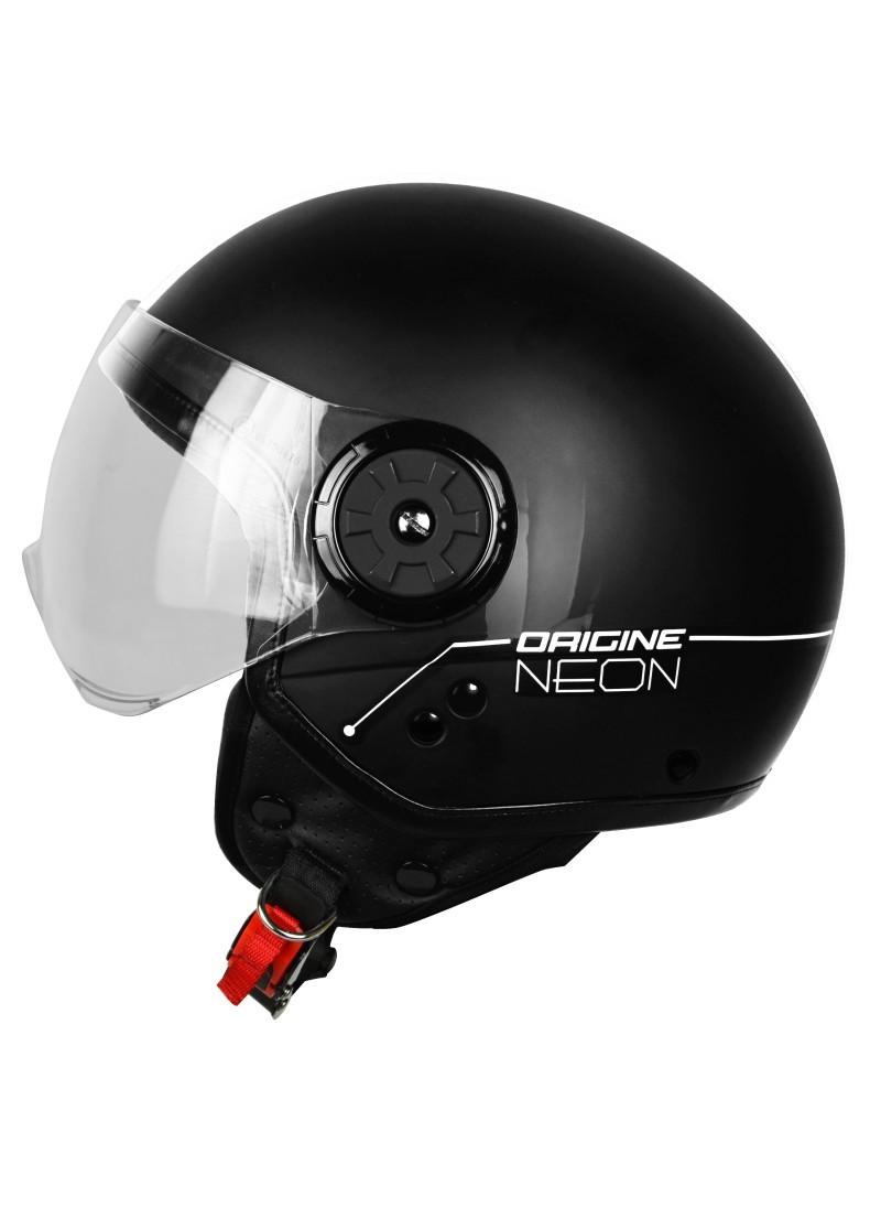 Casco Jet Origine Neon Negro