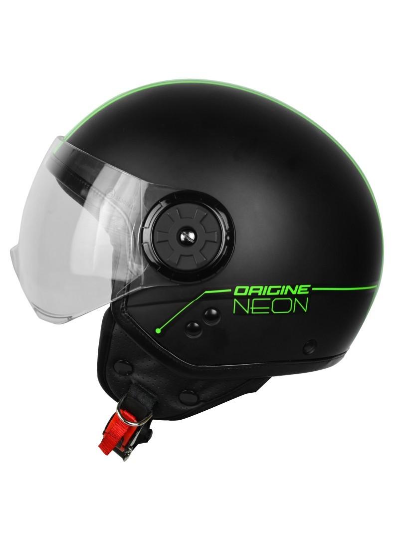 Casco Jet Origine Neon verde
