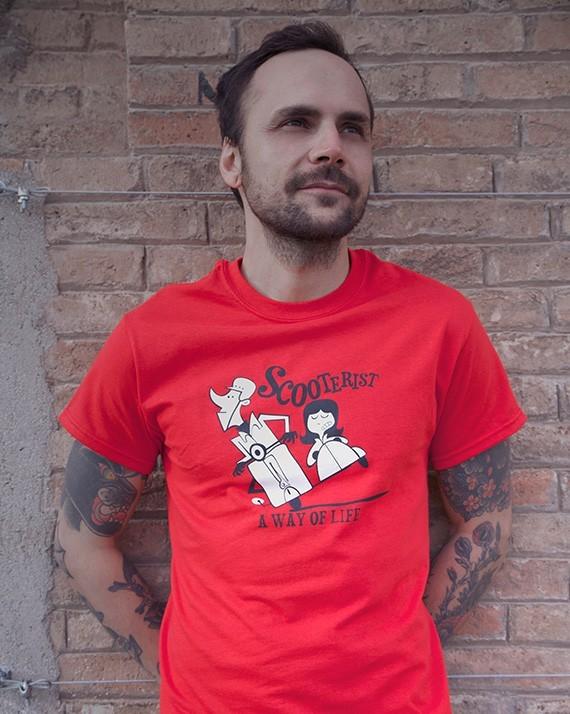 Camiseta Scooterist..a way of life