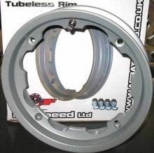 Llanta Tubeless Lambretta Aluminio pulido