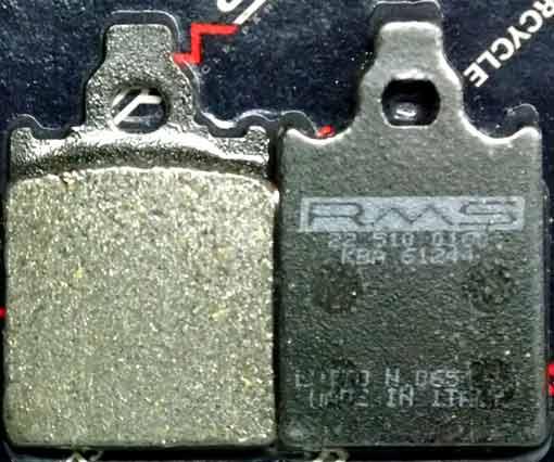 Pastillas freno Vespa PX RMS