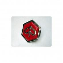 Logo hexagonal Piaggio Rojo PX PX/T5/LML