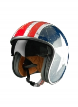 Casco Origine Sprint Rebel Star Casco estilo capitan américa