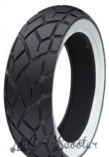 Neumatico Whitewall Tyre CST C-6017  110/70-12, 47P TL( delantero scomadi  )