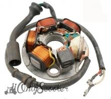 Stator Vespa PK XL-S-FL sin arranque (3 cables) tipo Ducati