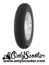Llanta Tubeless aluminio pulido + neumatico MICHELIN City Grip 3.50-10 59J