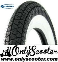 Neumático SCHWALBE HS 243 3.00X10 banda blanca