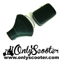 VESPA Front Saddle with Rear Seat Dark Green/Cream VBB/PX/SPRINT