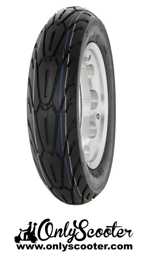 Llanta Tubeless + neumatico SIP PERFOMER TUBELESS Lambretta aluminio pulido Tube