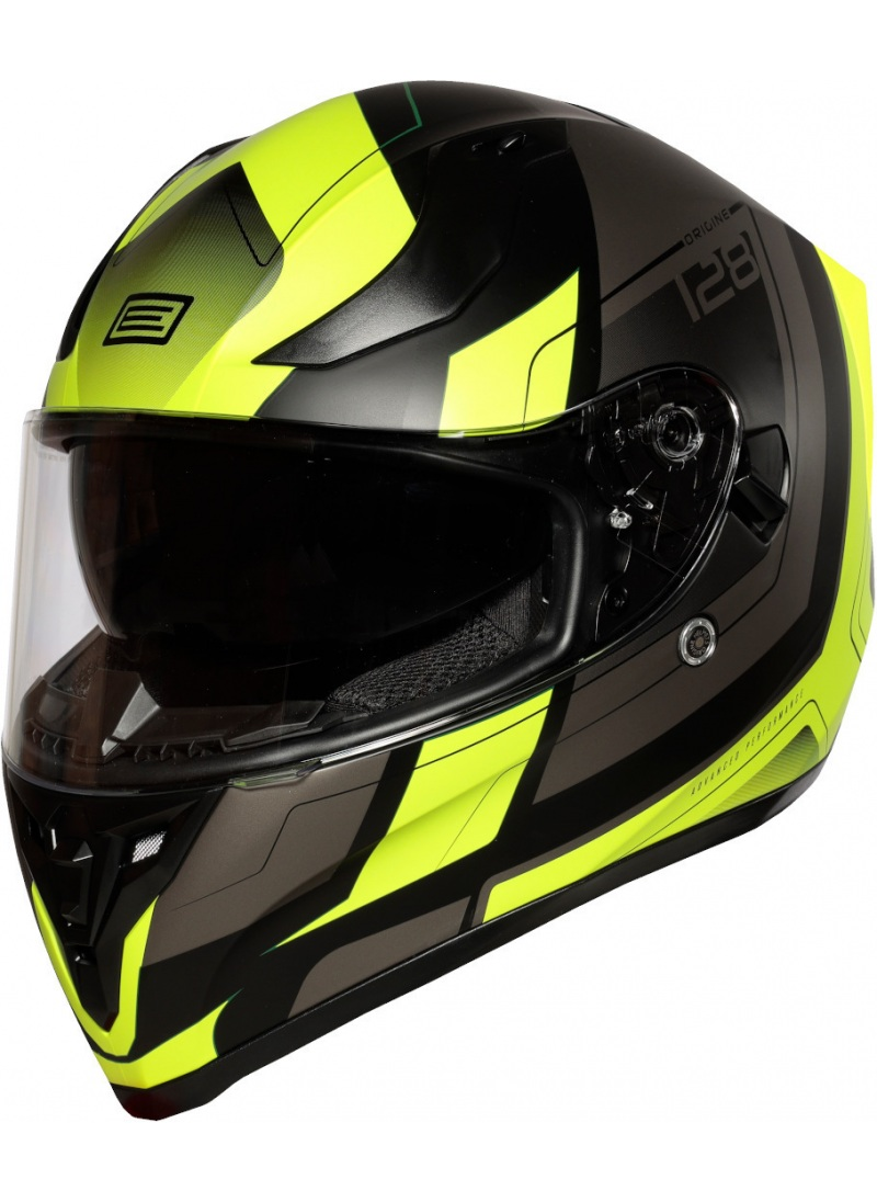 Casco Origine Strada Fluor Yellow Black