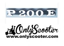Anagrama lateral Vespa 200 DN DS P200E